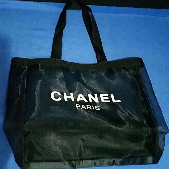 02912b965a5e Chanel VIP Mesh Tote